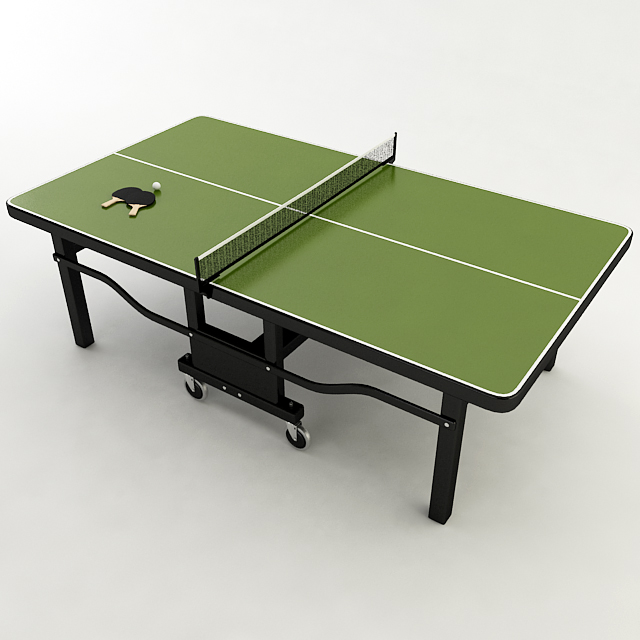 Attractive Ping Pong Table ( 152.5KB Jpg By Plutonius )