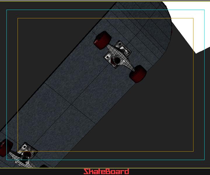 skate board 3d model 3ds max fbx obj 116827