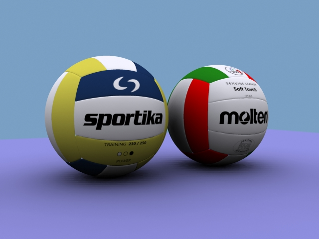 volleyball 3d model 3ds max obj 114304