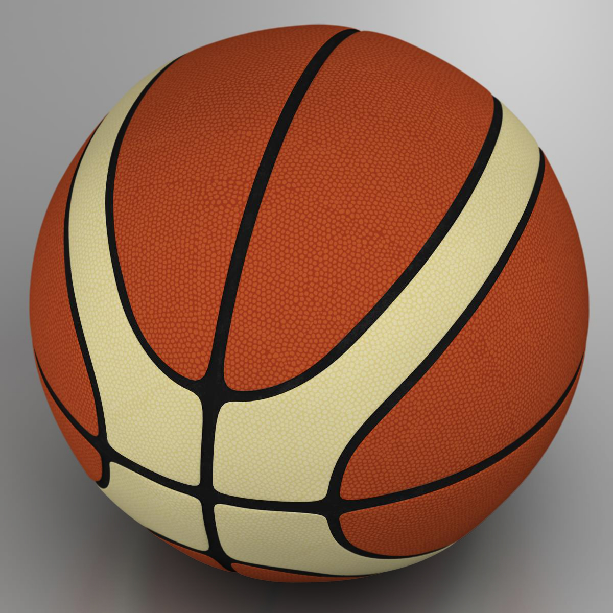 basketball ball eba 3d model 3ds max fbx c4d ma mb obj 165279