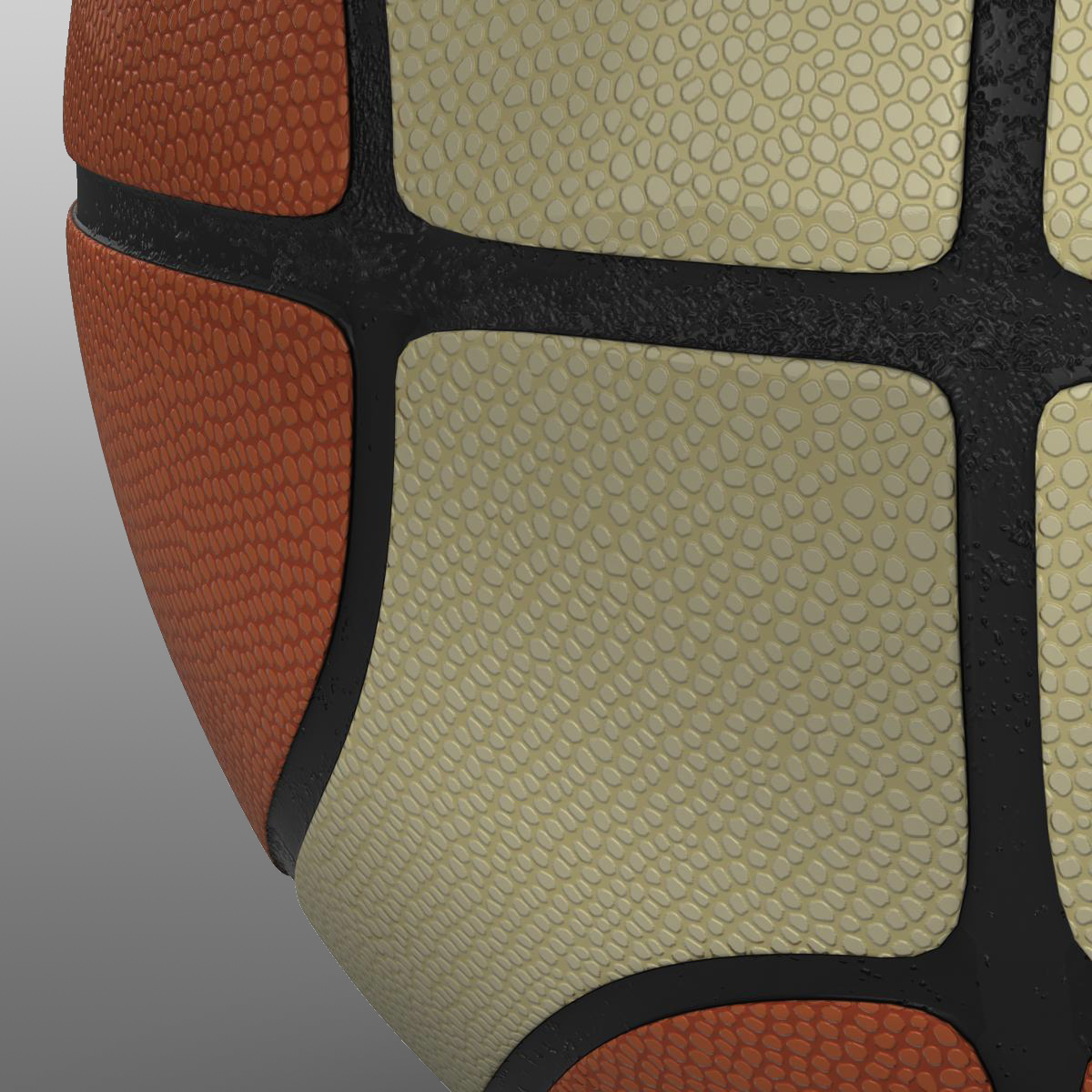basketball ball eba 3d model 3ds max fbx c4d ma mb obj 165283