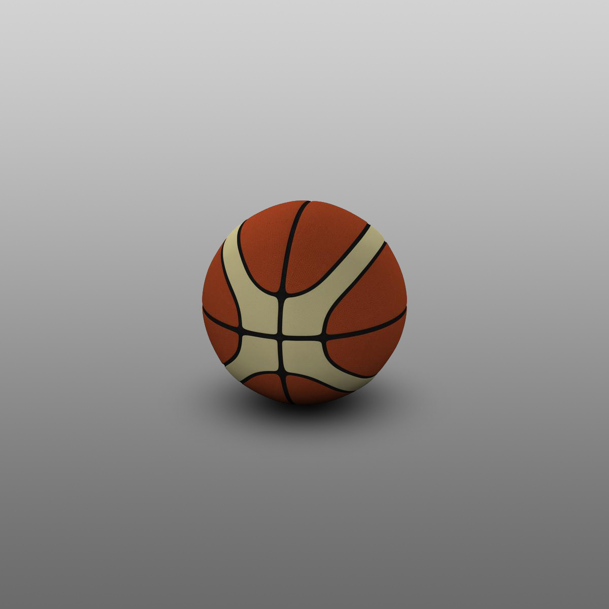 basketball ball eba 3d model 3ds max fbx c4d ma mb obj 165284