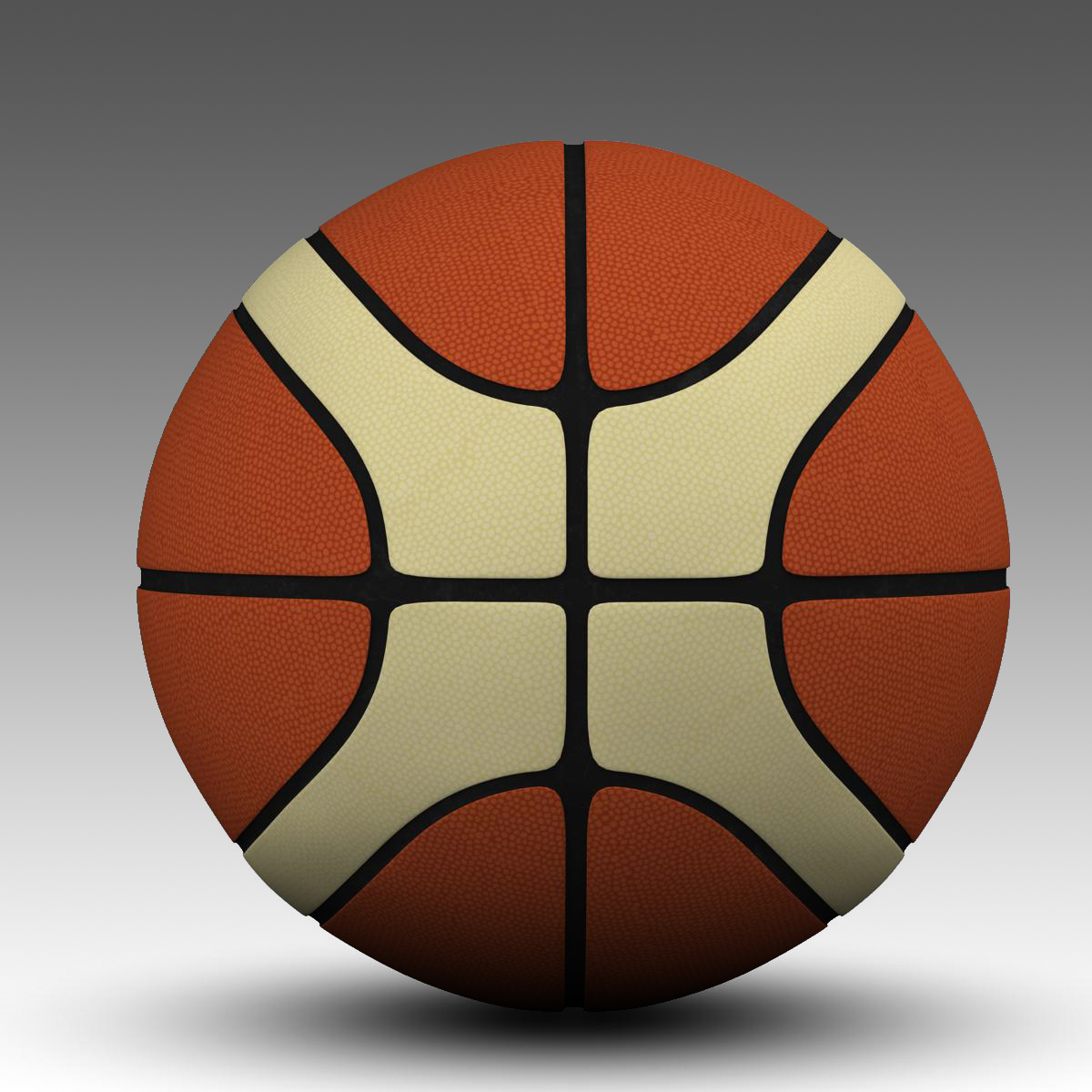 basketball ball eba 3d model 3ds max fbx c4d ma mb obj 165285