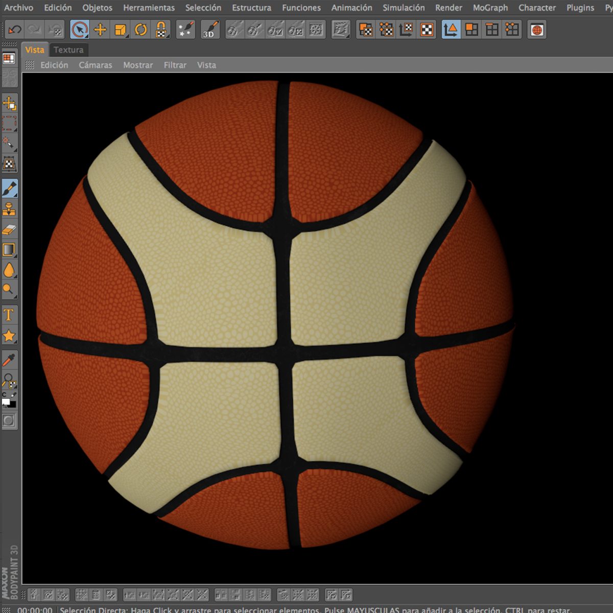 basketball ball eba 3d model 3ds max fbx c4d ma mb obj 165287