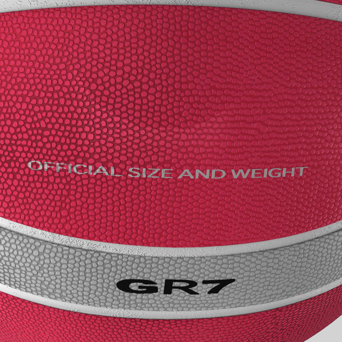 basketball ball eba red 3d model 3ds max fbx c4d ma mb obj 165294