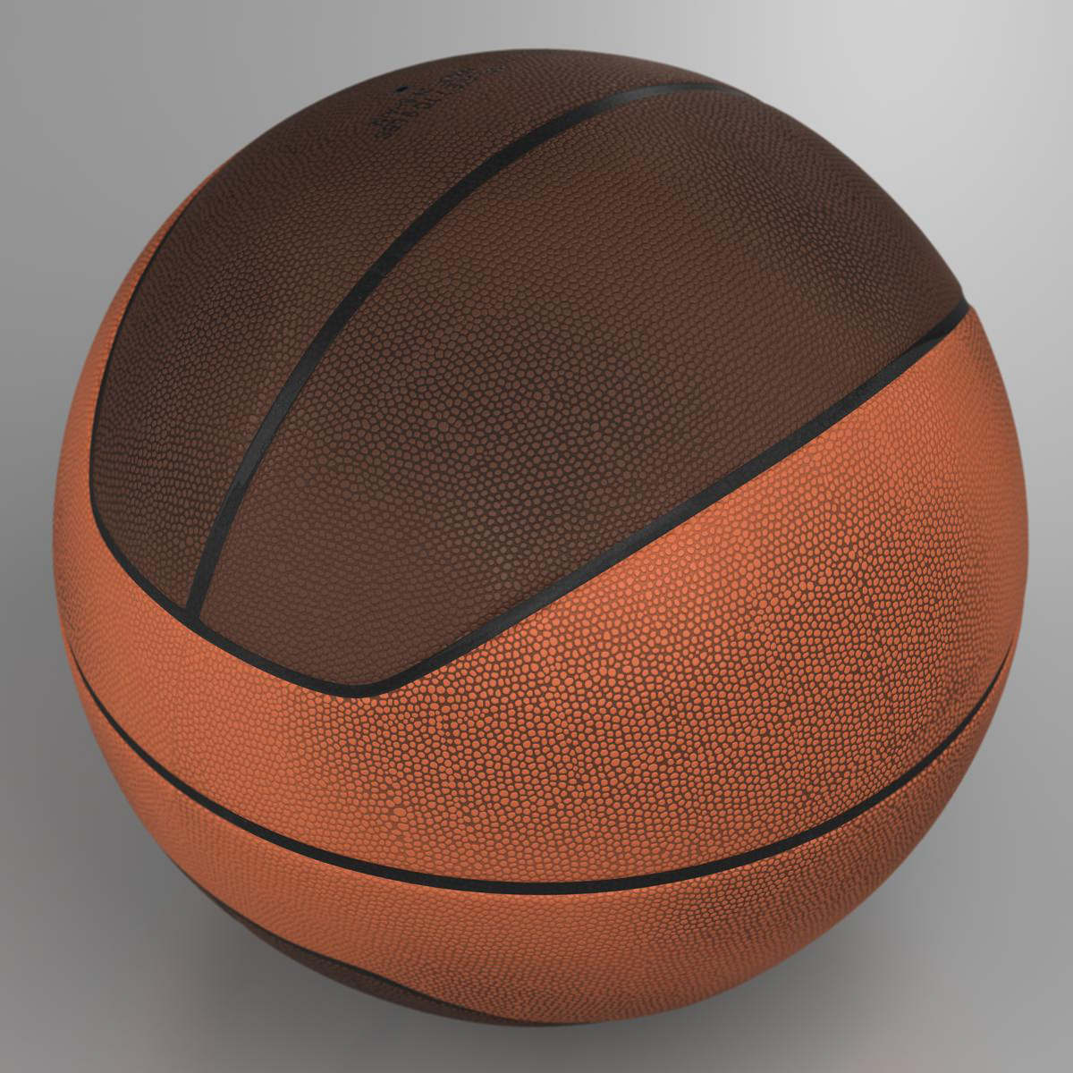 basketball ball euro 3d model 3ds max fbx c4d ma mb obj 164964
