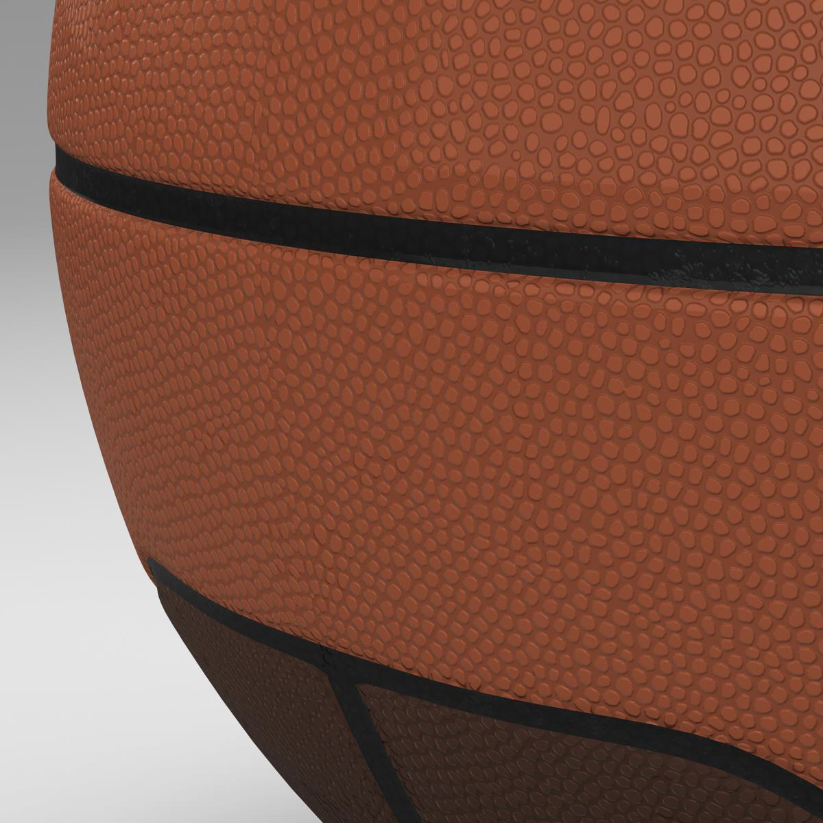 basketball ball euro 3d model 3ds max fbx c4d ma mb obj 164968