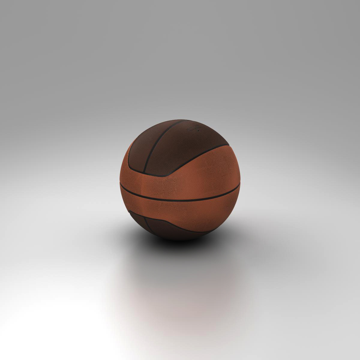 basketball ball euro 3d model 3ds max fbx c4d ma mb obj 164969