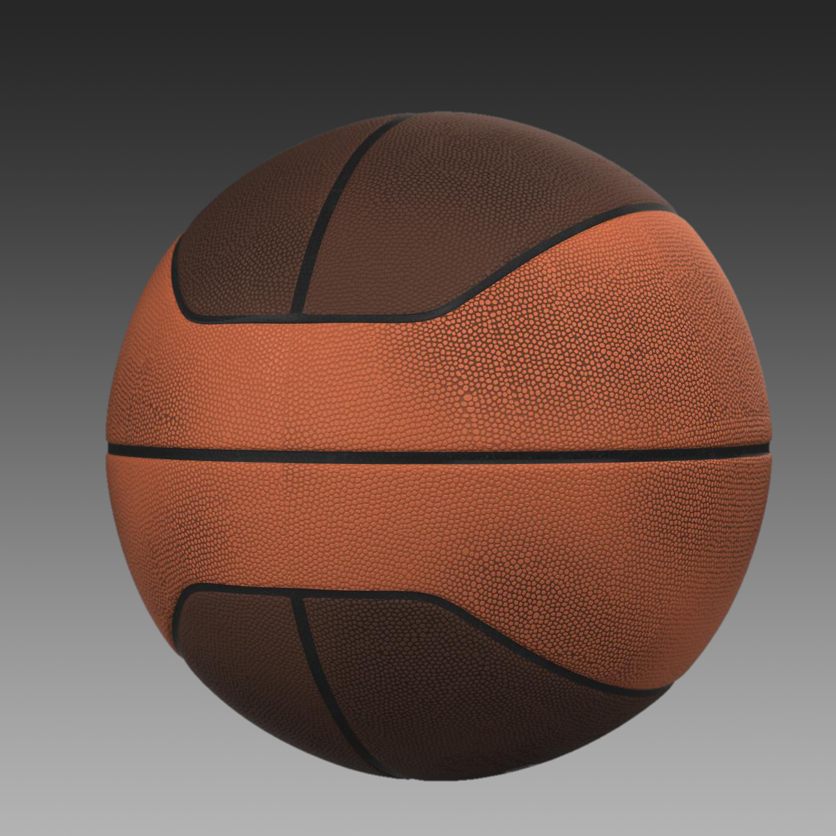 basketball ball euro 3d model 3ds max fbx c4d ma mb obj 164970