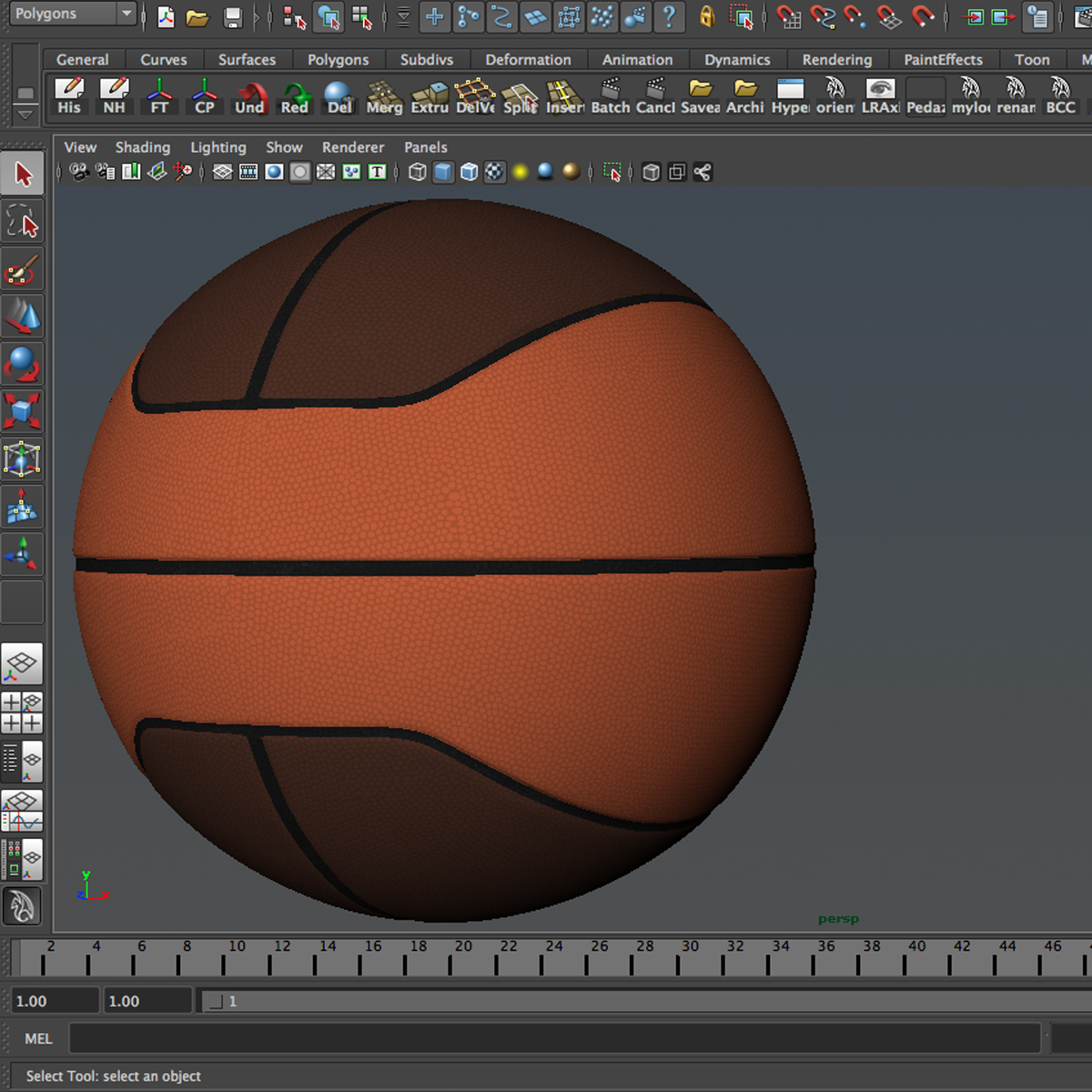 basketball ball euro 3d model 3ds max fbx c4d ma mb obj 164971