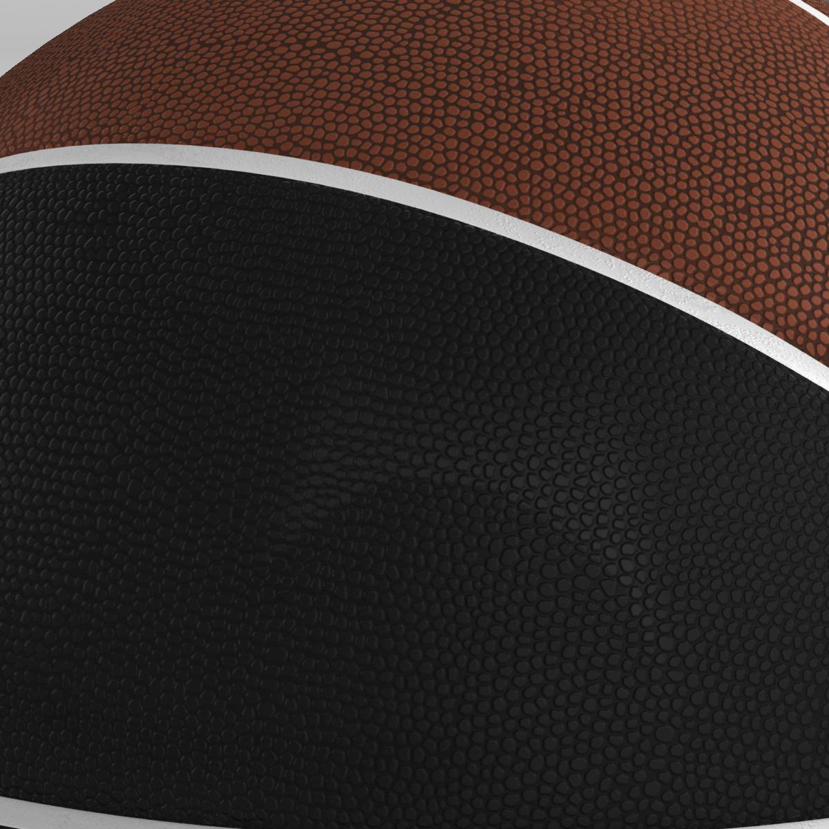 basketball ball euro brown-black 3d model 3ds max fbx c4d ma mb obj 165101