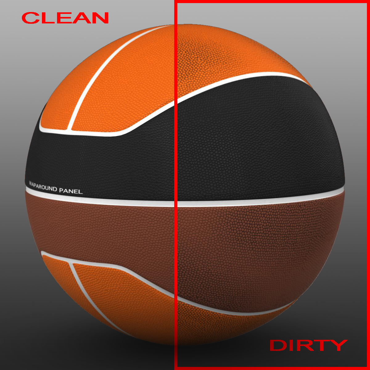 basketball ball euro tricolor 3d model 3ds max fbx c4d ma mb obj 164978