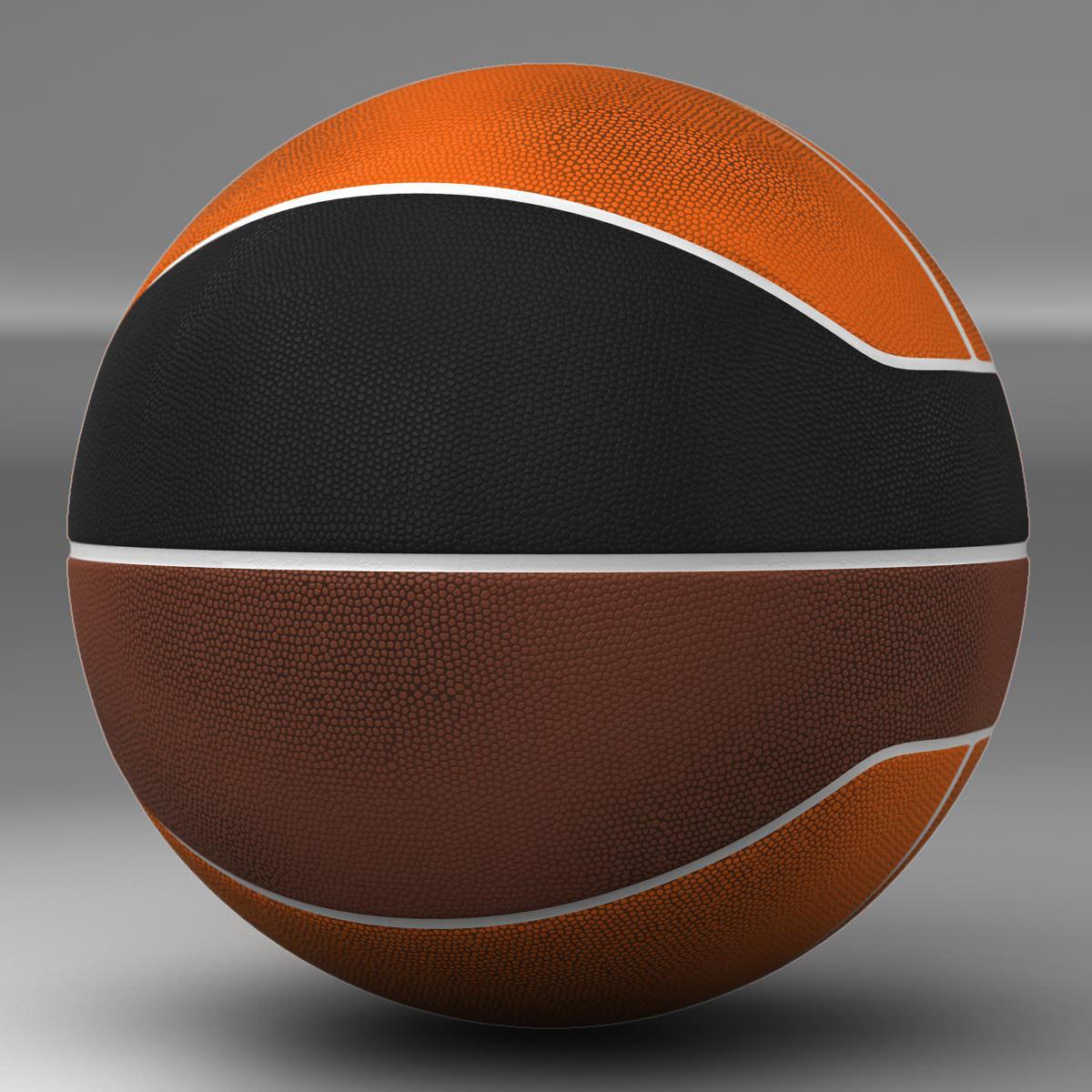 basketball ball euro tricolor 3d model 3ds max fbx c4d ma mb obj 164979