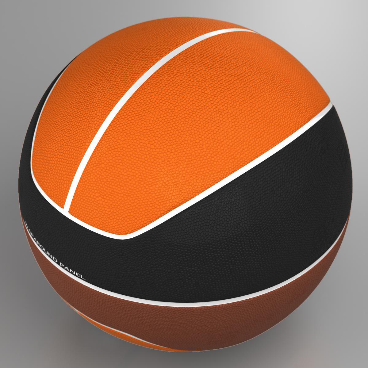 basketball ball euro tricolor 3d model 3ds max fbx c4d ma mb obj 164980