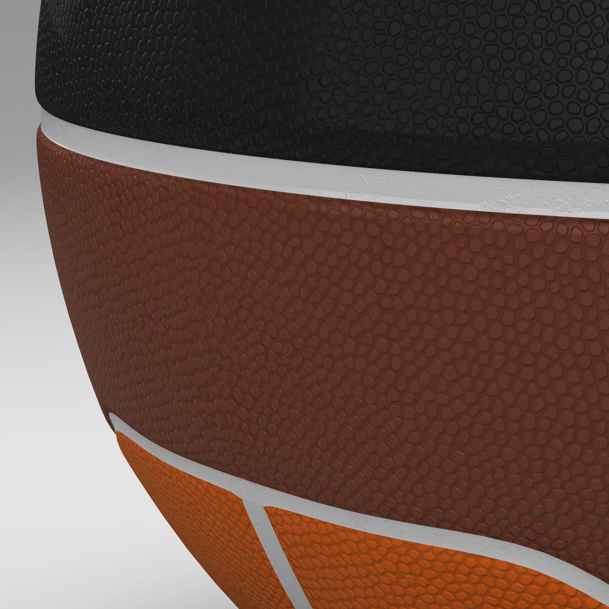 basketball ball euro tricolor 3d model 3ds max fbx c4d ma mb obj 164984