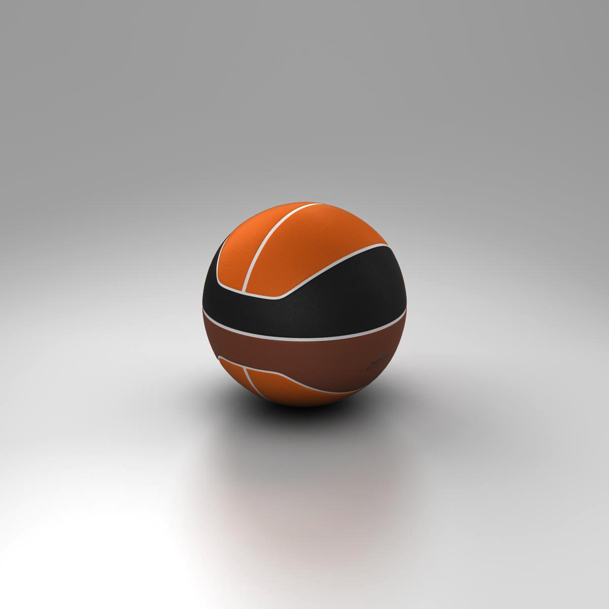 basketball ball euro tricolor 3d model 3ds max fbx c4d ma mb obj 164985