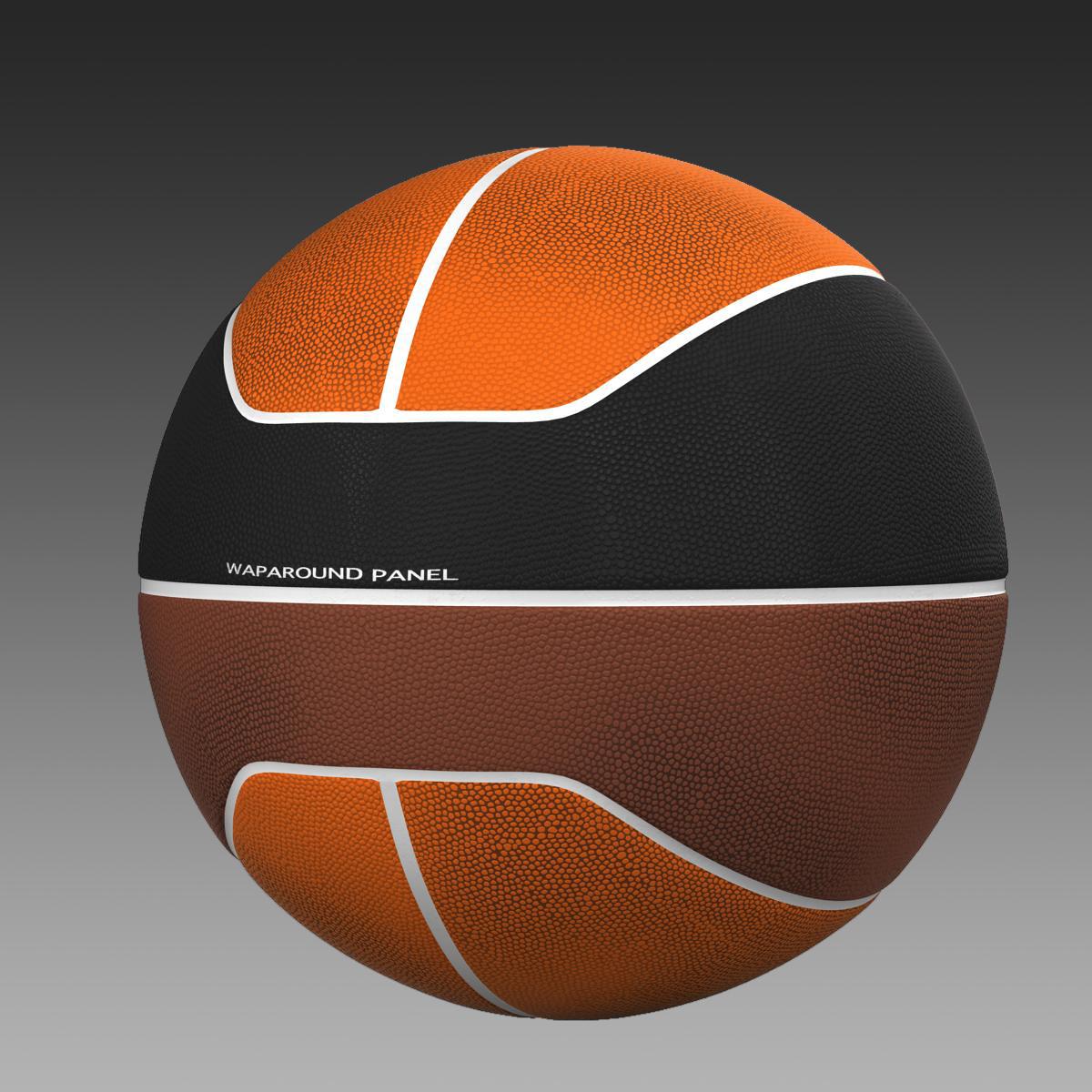 basketball ball euro tricolor 3d model 3ds max fbx c4d ma mb obj 164986