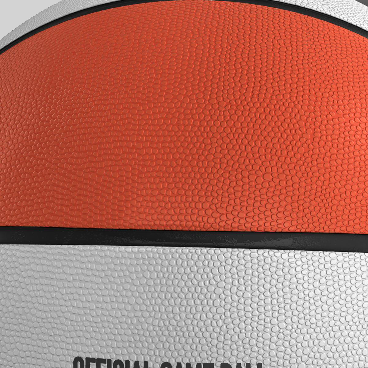 basketball ball star bicolor 3d model 3ds max fbx c4d ma mb obj 165787