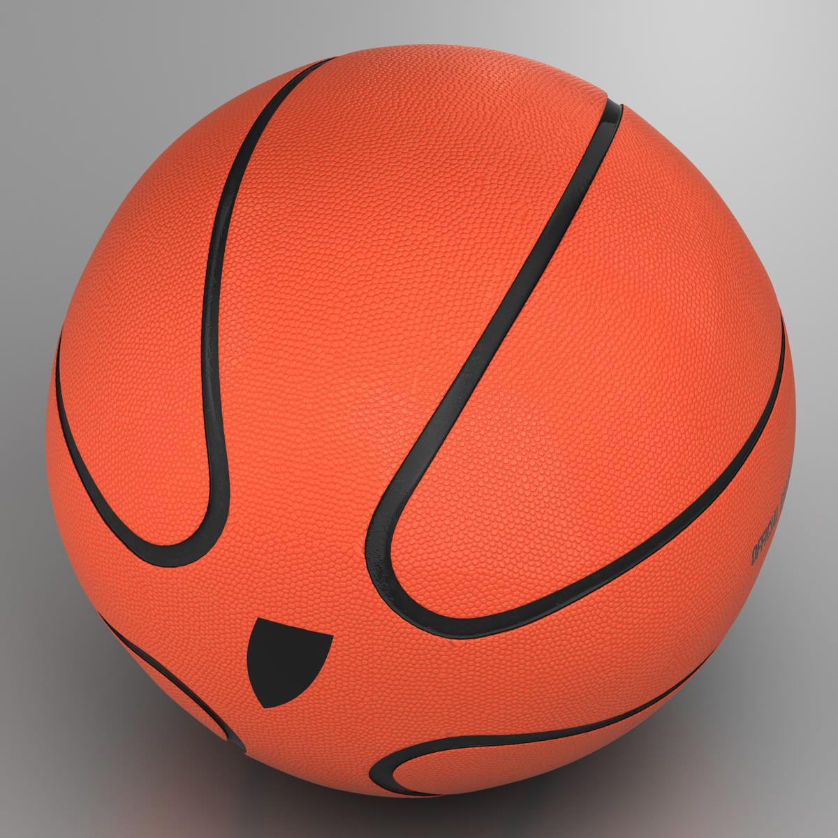 basketball ball star orange 3d model 3ds max fbx c4d ma mb obj 165717