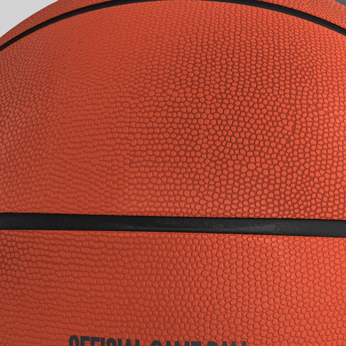 basketball ball star orange 3d model 3ds max fbx c4d ma mb obj 165720