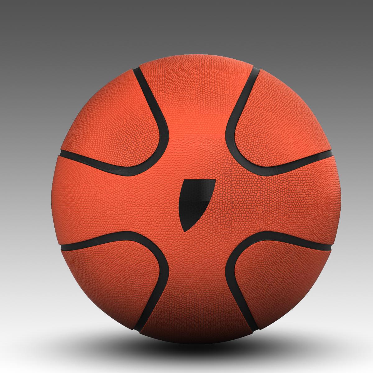 košarkaška lopta zvijezda narančasta 3d model 3ds max fbx c4d ma mb obj 165723