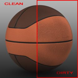 Basketball ball euro 3d model 0