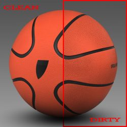 Basketball ball Star orange 3d model 0