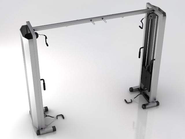 idman salonu avadanlığı 2 iki 3d model 3ds max obj 121108