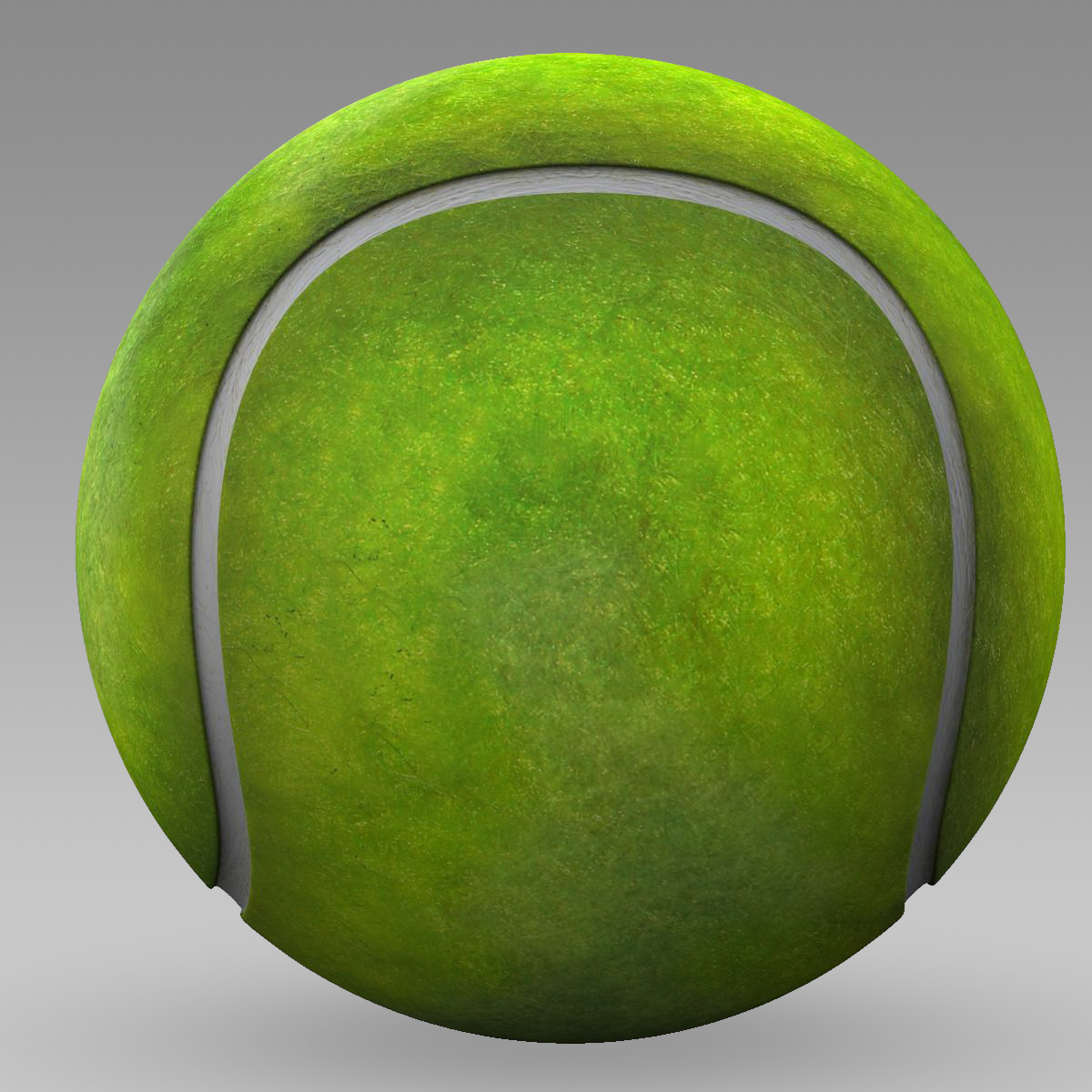 tennis ball lowpoly 3d model 3ds max fbx c4d ma mb obj 166097