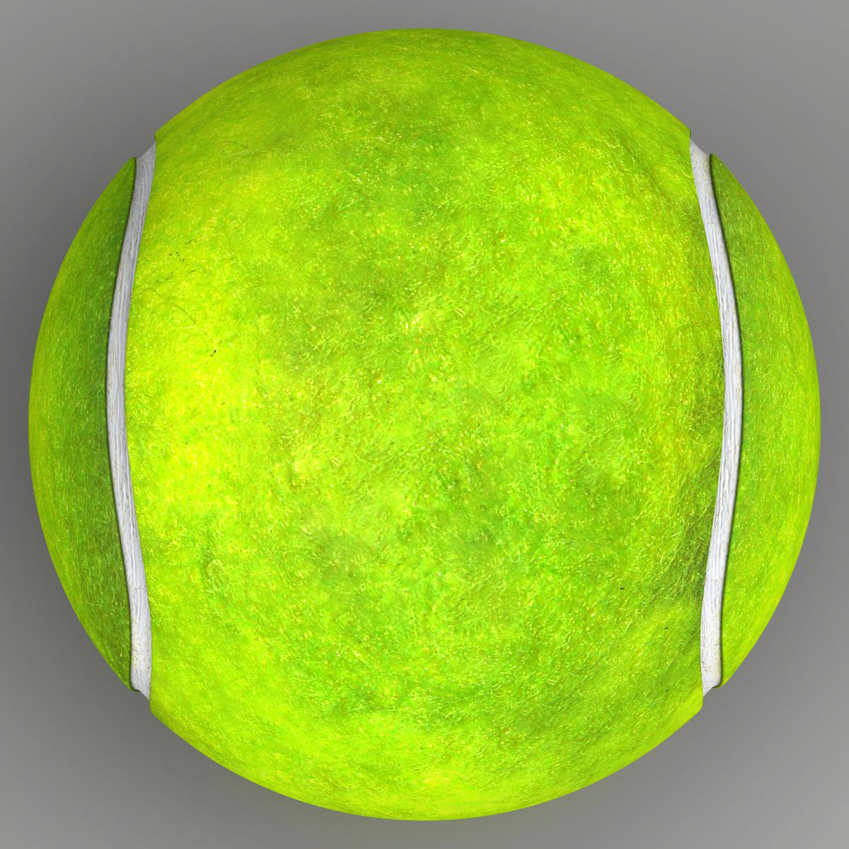 tennis ball lowpoly 3d model 3ds max fbx c4d ma mb obj 166099
