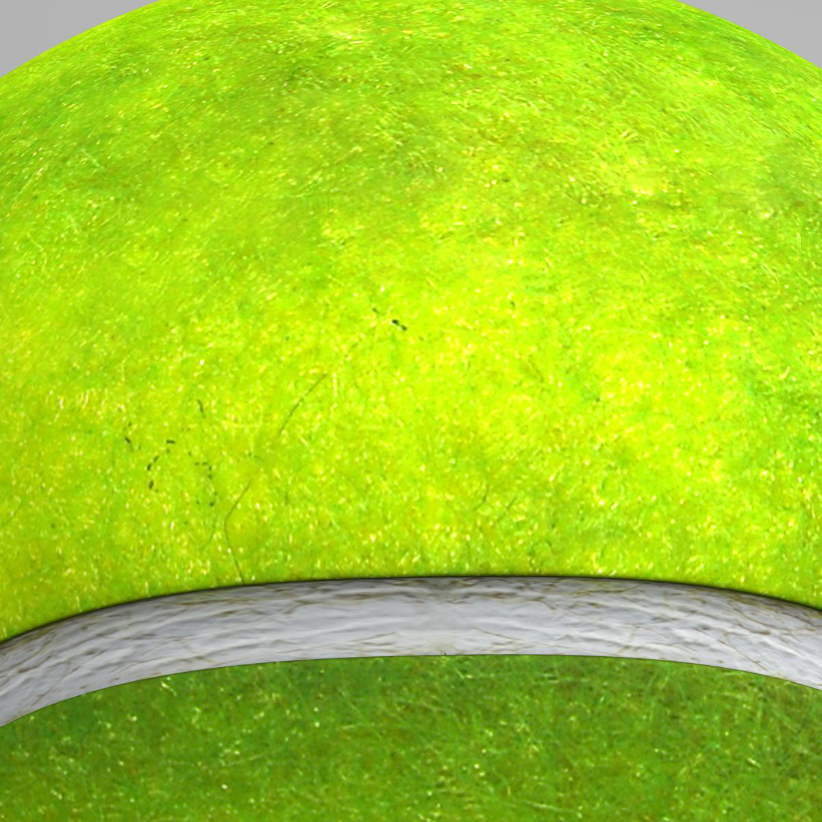 tennis ball lowpoly 3d model 3ds max fbx c4d ma mb obj 166100
