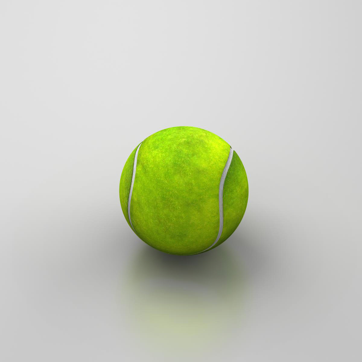 tennis ball lowpoly 3d model 3ds max fbx c4d ma mb obj 166102