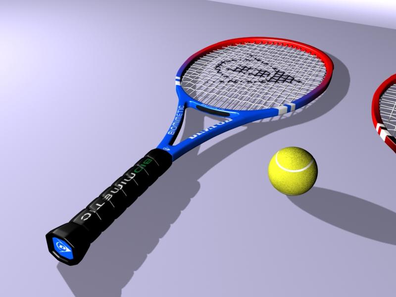 tennis racket 3d model 3ds max 147782
