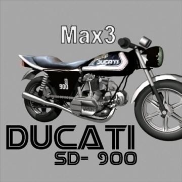 ducati sd 900 3d model max 79134