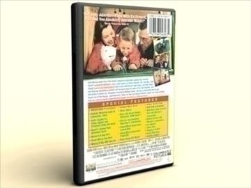 dvd case amaray 3d model 3ds max lwo obj other 89958