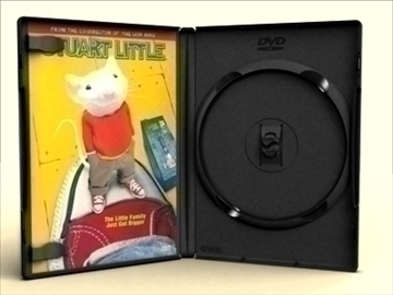dvd case amaray 3d model 3ds max lwo obj other 89959