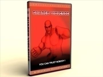 dvd case amaray 3d model 3ds max lwo obj other 89963