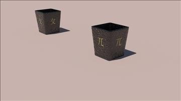 flower pots 3d model max 106161