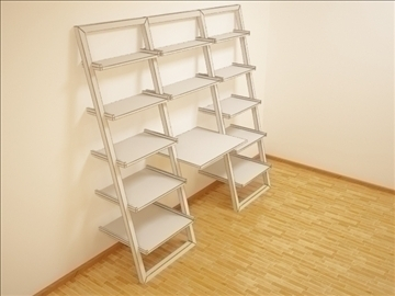 shelf01 3d model 3ds max obj 101243