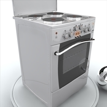 electric oven 3d modelo 3ds max 85397