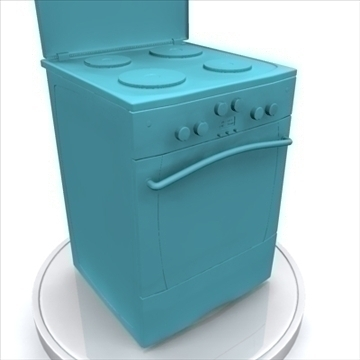 electric oven 3d model 3ds max 85399