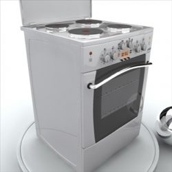 Electric oven ( 54.83KB jpg by GISHKA )