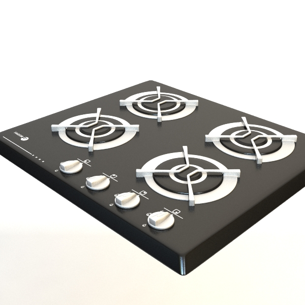 gas cooker 2 3d model 3ds max fbx obj 115005