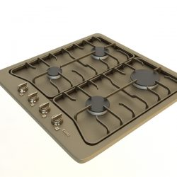 Gas Cooker ( 174.1KB jpg by 3dfurniture )
