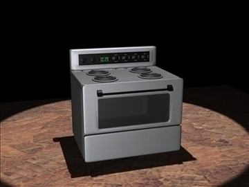 kitchen stove 3d model max 94319