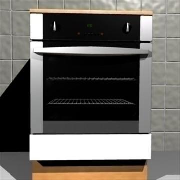 oven 3d model max 85034