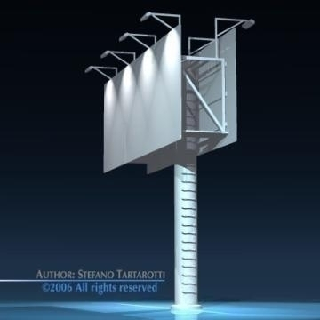 billboard1 3d model 3ds dxf obj 77565