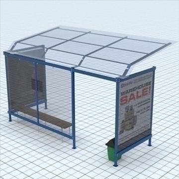 busstop 2 3d model blend lwo lxo texture obj 111467