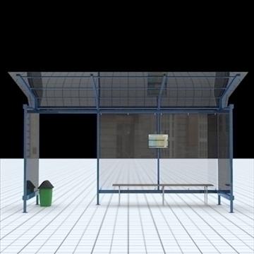 busstop 2 3d model blend lwo lxo texture obj 111468