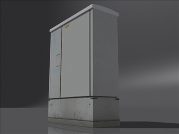 feeder pillar a 3d model 3ds max obj 108387